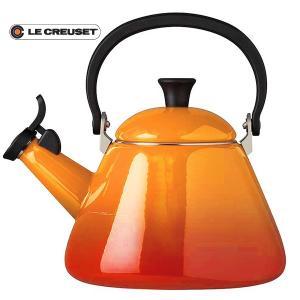 ル・クルーゼ(Le Creuset)  ケトル コーン (オレンジ) 920002-00-09(日本正規販売品)|lachance