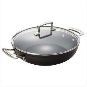 フライパンとしても、お鍋としても使えガラスフタ付きなので蒸し料理にも便利です。TNSは耐久性に優れ熱...