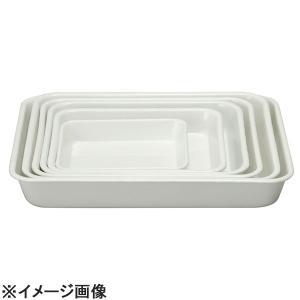 野田琺瑯 ホーロー角バットホワイト 6枚取 (ABTJ601)|lachance