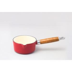 シャスール(CHASSEUR)ミルクパン(ドンシェリーレッド)14cm CH30414RD|lachance