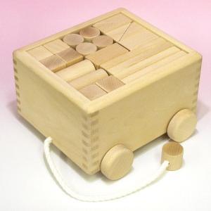 木のおもちゃ 積み木(50ピース)つみ木|lachance