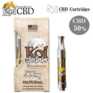 CBD Cartridge Koi スペクトラム CBD濃度50% 1.0ml 500mg 使い捨て
