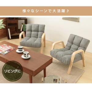 ソファ おしゃれ 安い 一人掛け ソファー 1人掛け イス チェア 椅子 木製 ウッドアームチェア Sサイズ WAC-S アイリスオーヤマ|ladybird6353|05