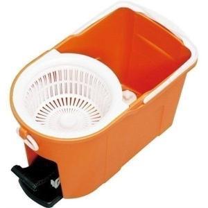 在庫処分価格★スピン 回転モップ 洗浄機能付き KMO-490S