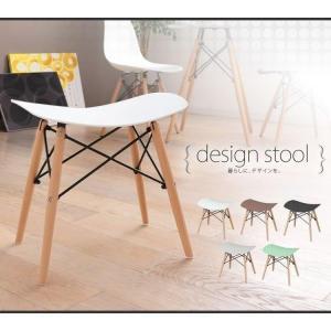 在庫処分 イームズチェア デザイナーズチェア イームズ 木脚 北欧 かわいい カフェ オシャレPP-638の写真