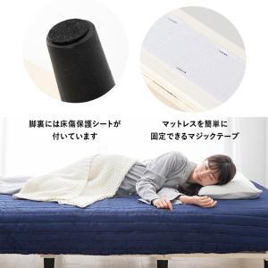 ベッド 脚付きマットレス 送料無料 マットレス付き シングル ベッドマットレスセット 圧縮梱包 19cm おしゃれ ウレタンマット ポケットコイル すのこベッド|ladybird6353|15