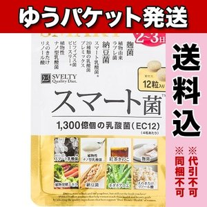 【ゆうパケット送料込み】SVELTY スマート菌 12粒