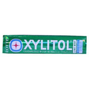 このガムは、虫歯の原因にならない甘味料(キシリトール及びマルチトール)を使用しています。ニューライム...