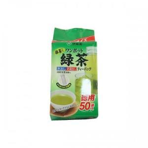伊藤園 ワンポット緑茶ティーバッグ (3g×50袋)|ladydrugheartshop