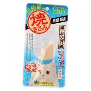 チャオ 焼ささみ 高齢猫用 ほたて味 1本入