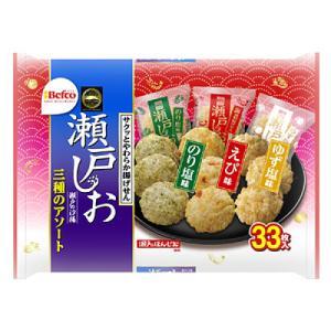栗山製菓 瀬戸の汐揚 三種のアソート 33枚×10個の関連商品4