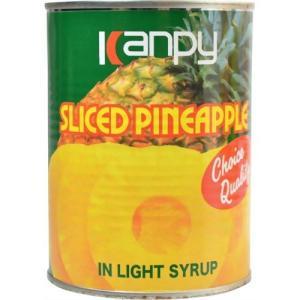 カンピー パインアップル スライス 3号缶 565gの商品画像