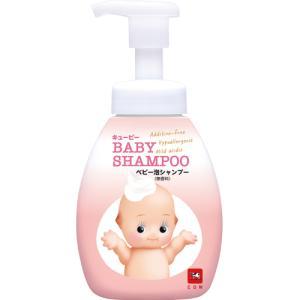 生まれてすぐの赤ちゃんのための泡シャンプー。生えはじめのやわらか細髪もやさしく洗える、弱酸性アミノ酸...