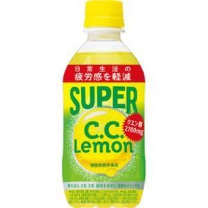 サントリーフーズ スーパーC.C.レモン 350ml×24個※取り寄せ商品(注文確定後6-20日頂きます) 返品不可|ladydrugheartshop