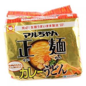 マルちゃん正麺カレーうどん 5食