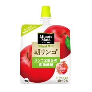 コカ・コーラ ミニッツメイド 朝リンゴ 180g×6個|ladydrugheartshop