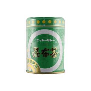 ニットーリレー 昆布茶(缶)80g ladydrugheartshop