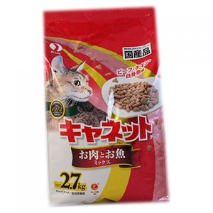 キャネット チップ お肉とお魚ミックス 2.7kg