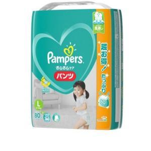 パンパース パンツ L メガジャンボ 80枚×3個|ladydrugheartshop