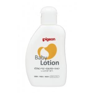 赤ちゃんの胎脂に近い保湿成分を使用したローションです。 お肌にうるおいを与え、すこやかに保ちます。