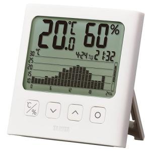 タニタ グラフ付デジタル 温湿度計TT580|ladydrugheartshop