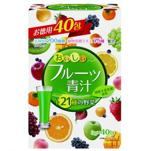 ユーワ おいしいフルーツ青汁 40包