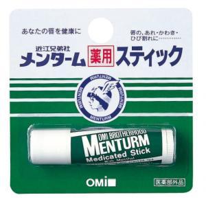 【医薬部外品】メンターム 薬用スティック レギュラー 4g