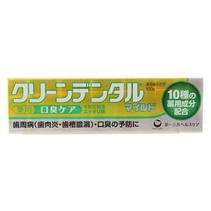 【医薬部外品】クリーンデンタル マイルド 100g