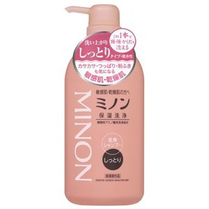 【医薬部外品】ミノン 全身シャンプー しっとりタイプ ボトル 450ml