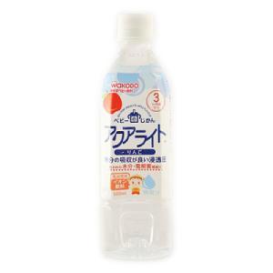 水分の吸収が良い浸透圧の乳児用イオン飲料です。(乳児用規格適用食品)