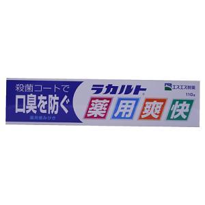 【医薬部外品】ラカルト薬用爽快 110g