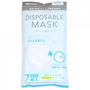 アイリスオーヤマ サージカルマスク ふつうサイズ 7枚入※返品不可【当日つく愛媛】|ladygoehime