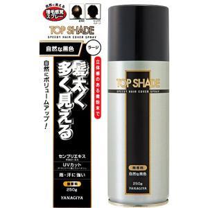 トップシェード スピーディーヘアカバースプレー 自然な黒色  250g【当日つく香川】|ladygokagawa