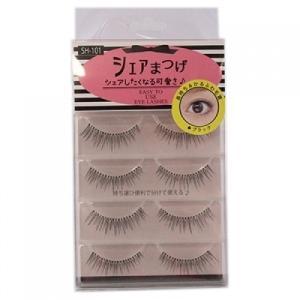 シェアまつげ  ナチュラル  eyes  SH−101  4ペア【当日つく高知】 ladygokouchi