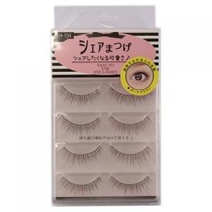 シェアまつげ  ガーリー  eyes  SH−104  4ペア【当日つく高知】 ladygokouchi