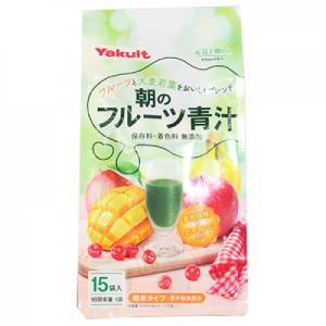 朝のフルーツ青汁 (7g×15袋)|ladynatsukawa