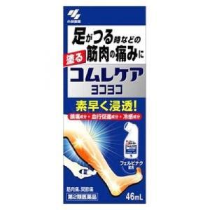 消炎鎮痛成分フェルビナクが患部に浸透し、足のつりなどの筋肉の痛みを鎮めます