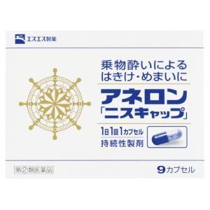 【第(2)類医薬品】アネロン ニスキャップ 9カプセル ladynatsukawa