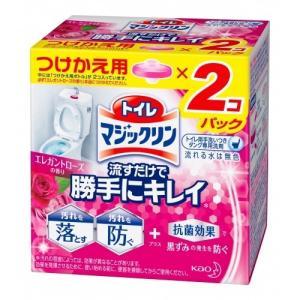 トイレマジックリン 流すだけで勝手にキレイ  エレガントローズの香り つけかえ用 (80g×2)