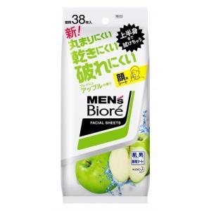 メンズビオレ 洗顔シートフレッシュアップルの香り卓上用 38枚