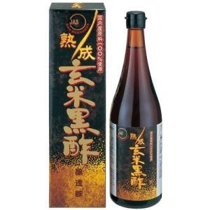 熟成玄米黒酢 720ml※取り寄せ商品(注文確定後6-20日頂きます) 返品不可