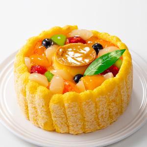 ケーキ フルーツプリンアラモード(おのし・包装・ラッピング不可)