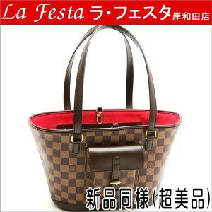 ルイヴィトン トートバッグ ダミエ マノスクPM N51121 中古(新品同様【超美品】)|lafesta-k