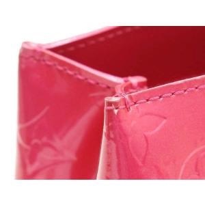 ルイヴィトン トートバッグ モノグラム・ヴェルニ ウィルシャーPM ローズポップ 保存袋付き M93643 中古(程度極良)|lafesta-k|08