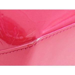 ルイヴィトン トートバッグ モノグラム・ヴェルニ ウィルシャーPM ローズポップ 保存袋付き M93643 中古(程度極良)|lafesta-k|09