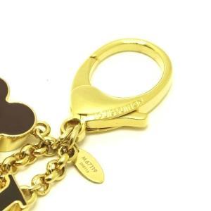ルイヴィトン バッグ チャーム・フルール ドゥ モノグラム ゴールド M67119 新品(展示品)|lafesta-k|06