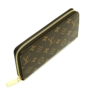 ルイヴィトン 長財布 モノグラム ジッピー・ウォレット フューシャ 箱 紙袋付き M41895 中古(新品同様【美品】)|lafesta-k|03