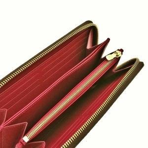 ルイヴィトン 長財布 モノグラム ジッピー・ウォレット フューシャ 箱 紙袋付き M41895 中古(新品同様【美品】)|lafesta-k|06