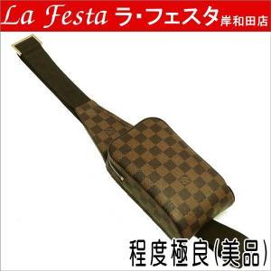 ルイヴィトン ウエストポーチ ダミエ ジェロニモス N51994 中古(程度極良【美品】) lafesta-k