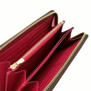 ルイヴィトン 長財布 モノグラム ジッピー・ウォレット フューシャ M41895 新品|lafesta-k|04